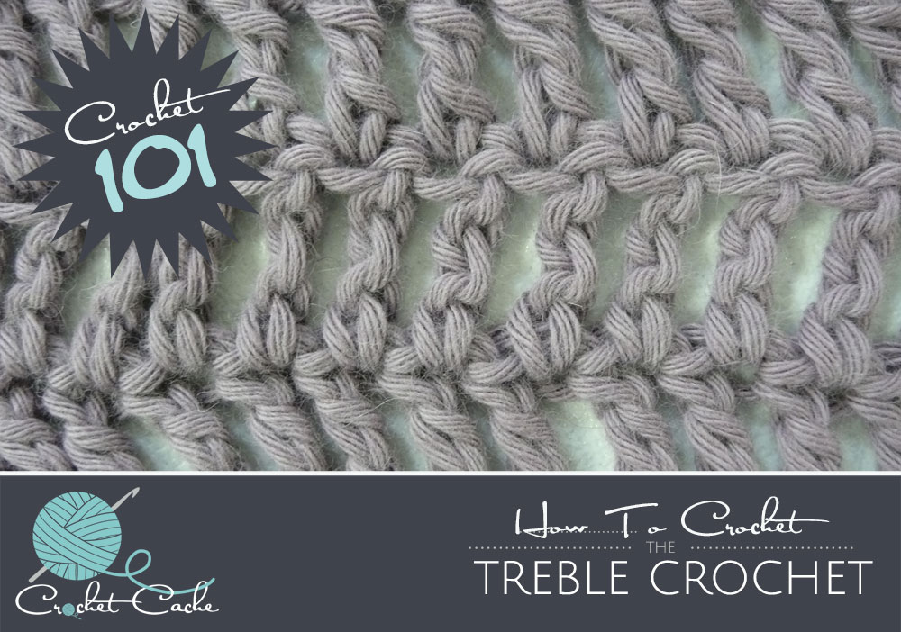 Triple Crochet Stitches Treble or Triple Stitch