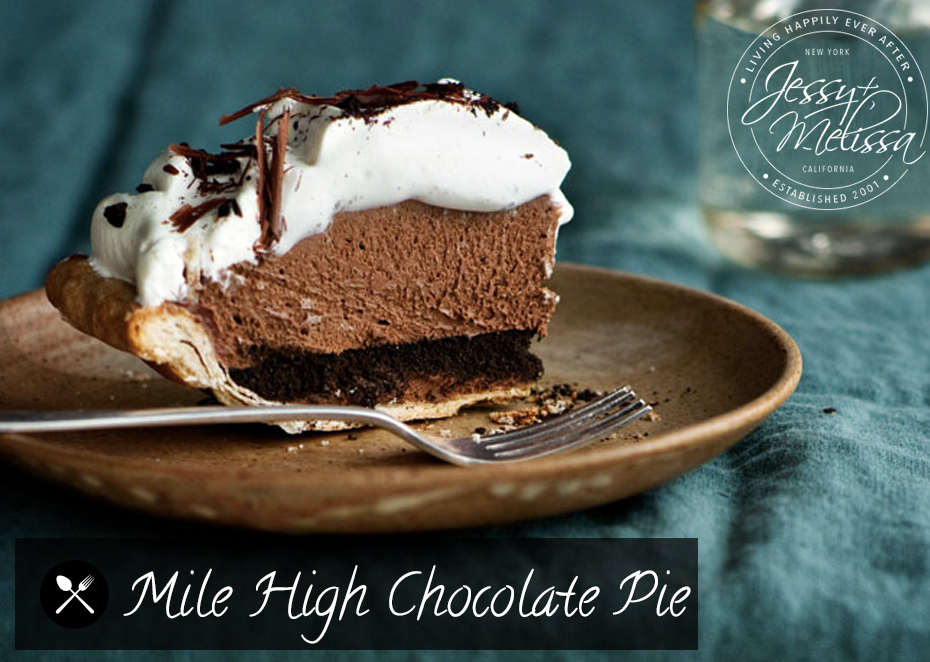 mile mile high chocolate stout pie mile high chocolate pie mile high ...