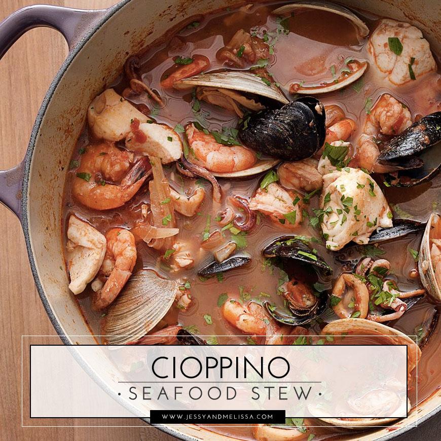 Cioppino Seafood Stew Jessy Melissa